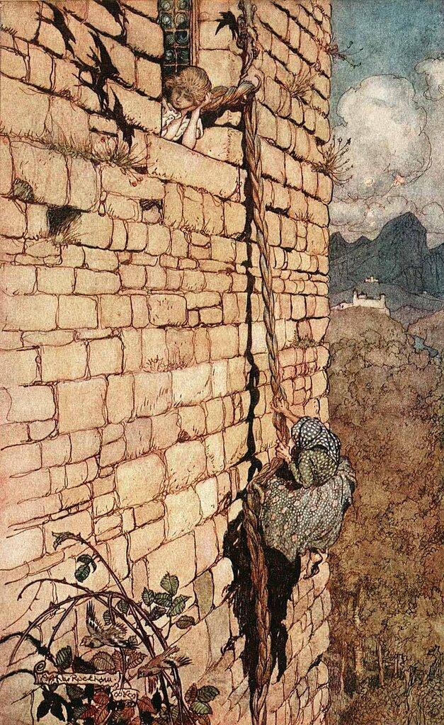 Arthur Rackham. Grimm's Fairy Tales.Hansel & Grethel