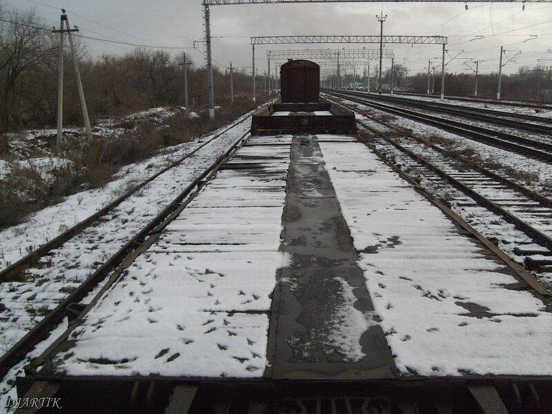 Вид с вагонов. (1)