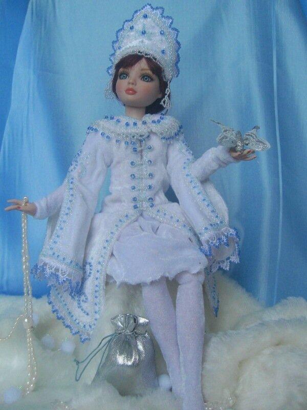Как сшить куклу снегурочку своими руками фото