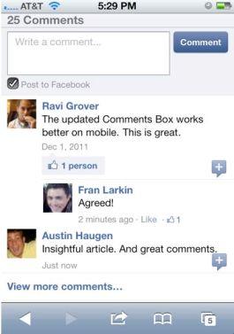 плагин facebook