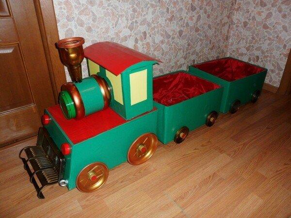 Игрушки в поезд своими руками