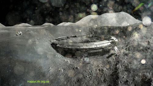 Луна нло непознанное орбы нло на луне