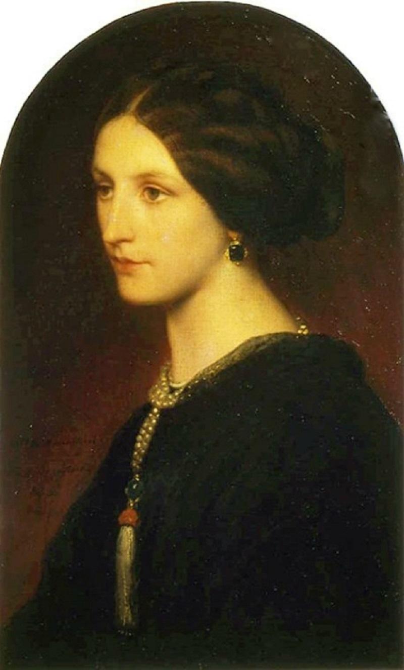 Поль Деларош (1798-1858)  Портрет графини Шуваловой  (1853) .jpg