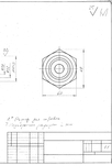 Корпус клапана Боголюбов, фото чертежа карандашом