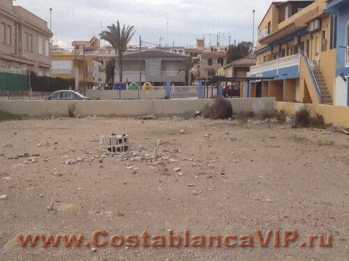 Земля в Torrevieja, участок в Торревьехе, земля в Торревьехе, недвижимость в Испании, Коста Бланка, земля под застройку, CostablancaVIP