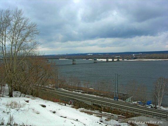 Пермь. Вид на реку Кама