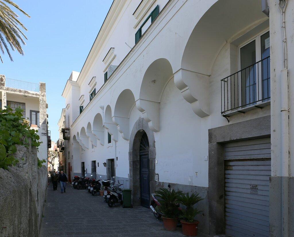Ischia, Forio. Street Sant'antonio Abate