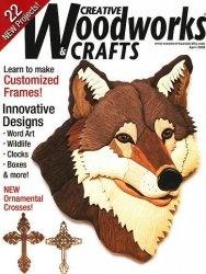 Журнал Creative Woodworks & Crafts April 2008