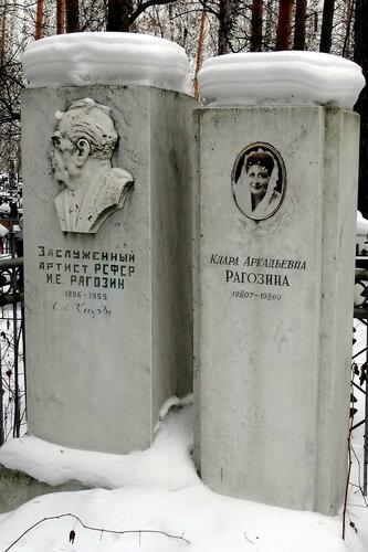 могилы актёров