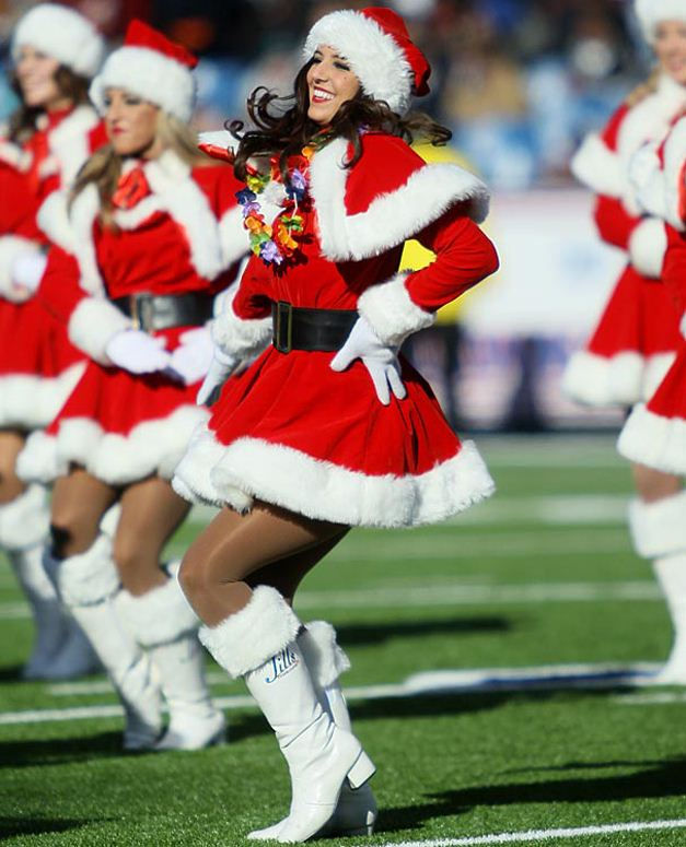 NFL Christmas 2011 Cheerleaders - Buffalo Bills