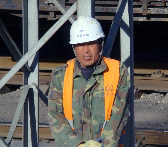 Строительство скоростной железной дороги в Китае