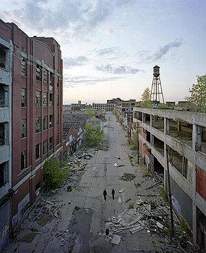 Новости капитализма: по всей Америке некогда великие города превращаются в гноящиеся раны