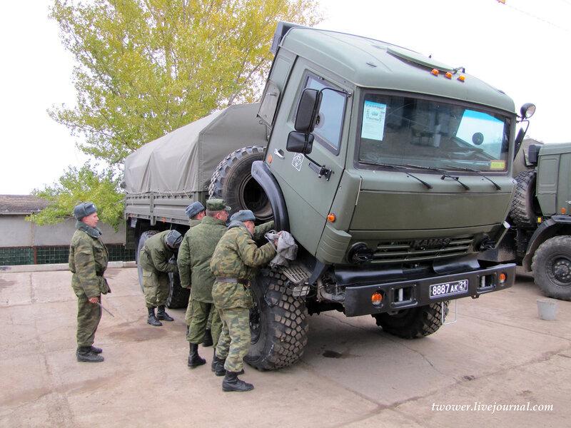56-я десантно-штурмовая бригада. Боевая техника и подготовка
