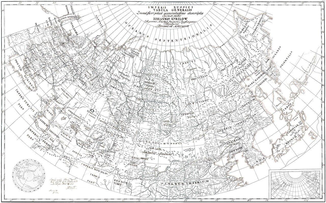 36. Российская Империя. Генеральный План
