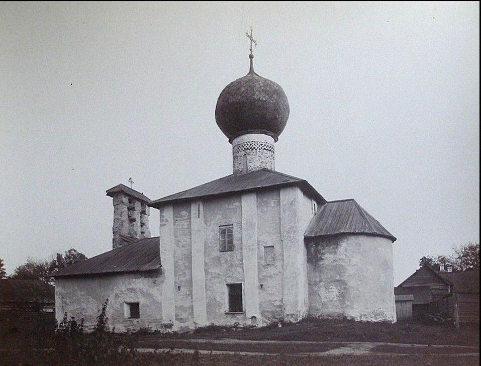 Вознесенский храм бывшего Нововознесенского монастыря. 1917