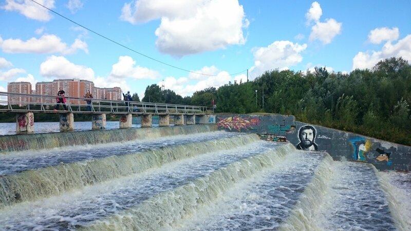 Борисовские пруды - плотина