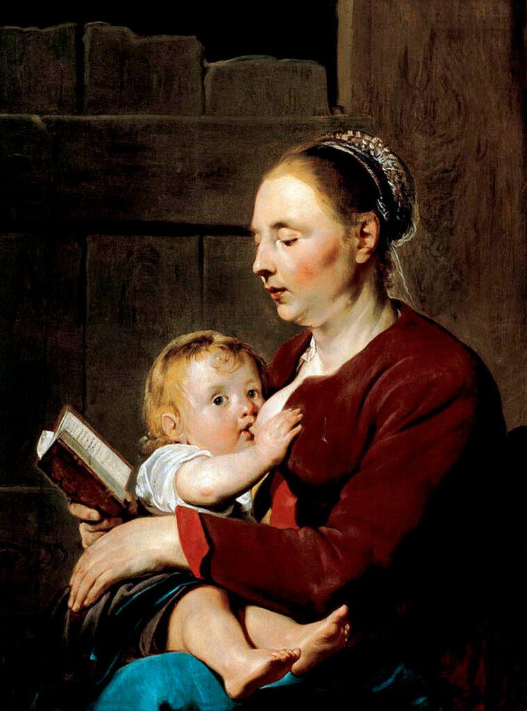 Pieter_Fransz__de_Grebber_-_Mother_and_Child_-_WGA103931622.jpg