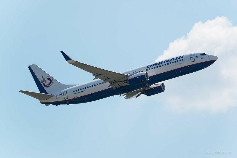 Boeing 737-8LJ (VQ-BVU) Оренэйр 0530_D804492