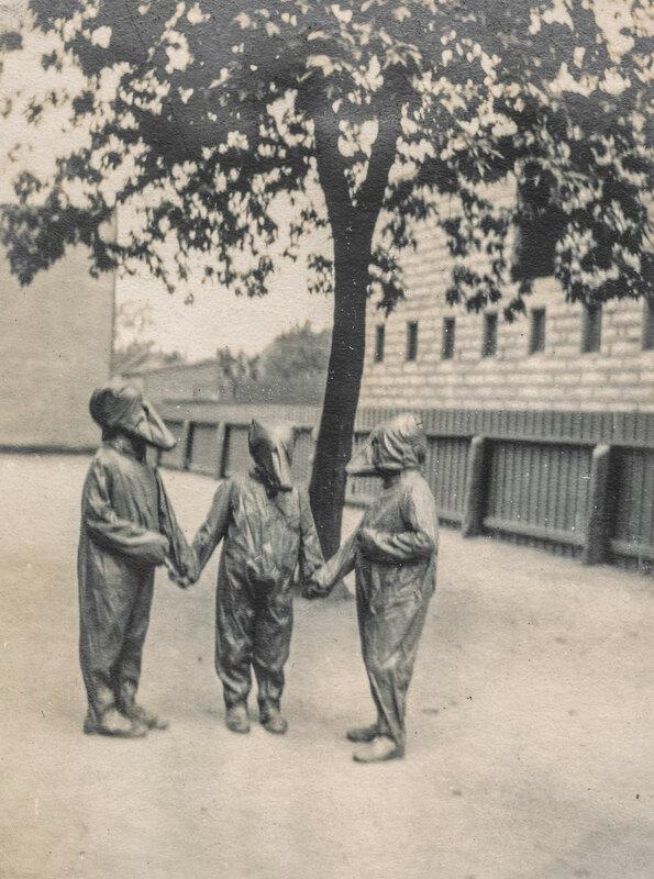 Children in costume performing