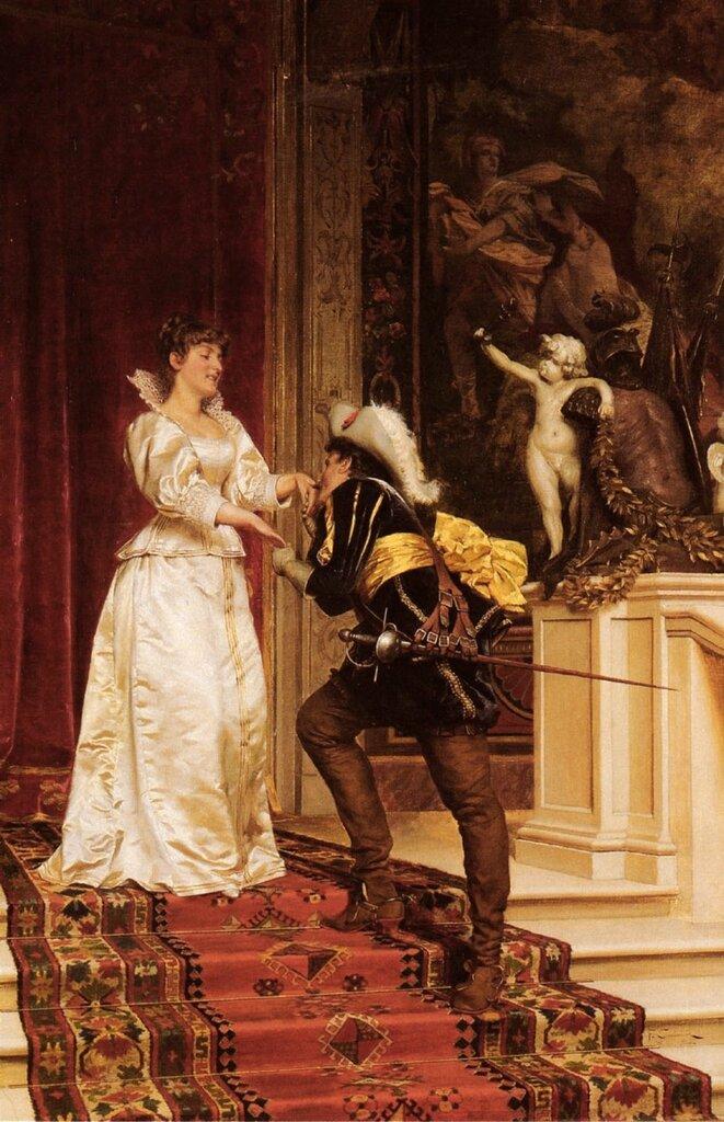Фредерик Soulacroix: Soulacroix Charles Joseph Frederic The Cavaliers Kiss