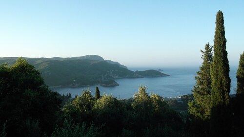 Деревни северо-запада Корфу. Лаконес, Макрадес, Крини.