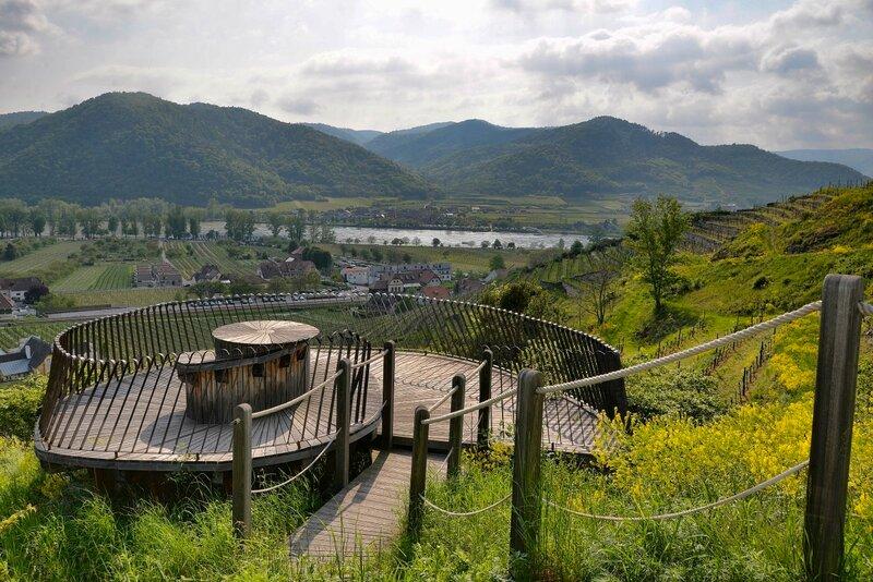 Смотровые площадки Вахау, часть 2: Дюрнштайн под винным углом зрения