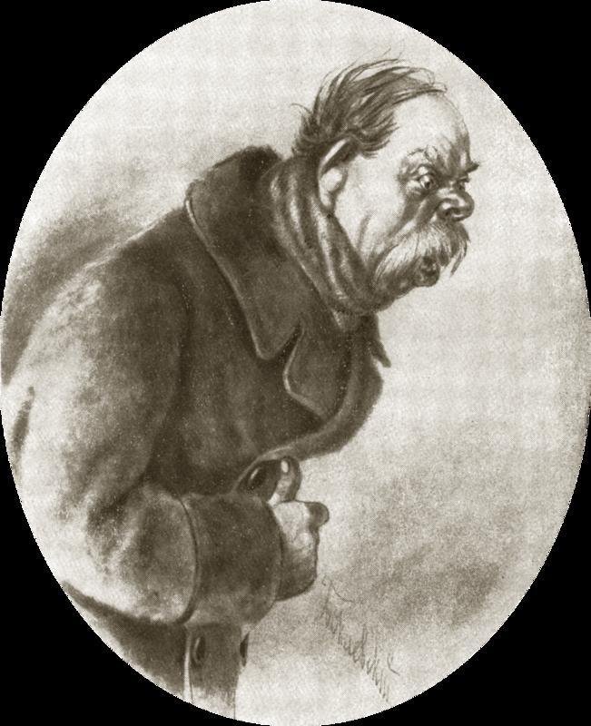 Иллюстрация к пьесе Н.В.Гоголя Тяжба.png