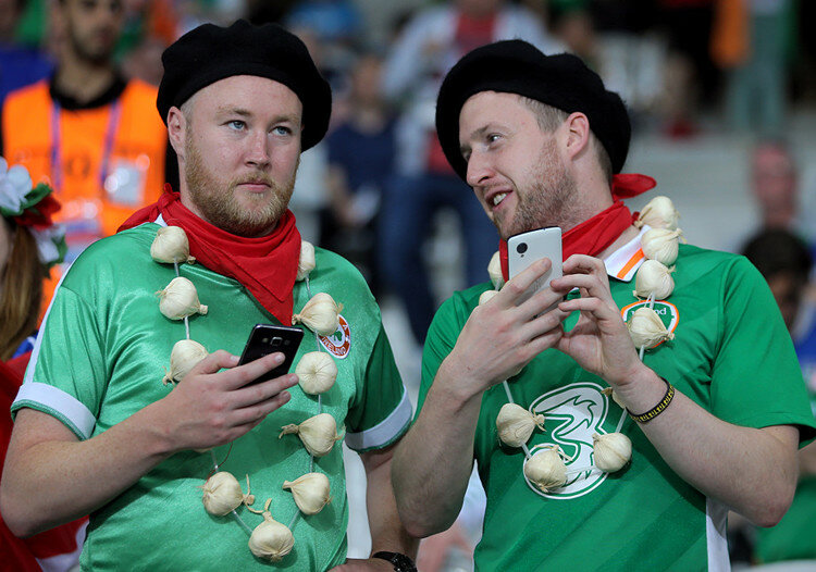 Чемпионат Европы. Италия - Ирландия