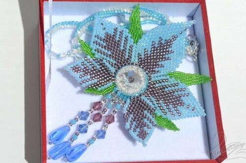 Альбом пользователя Юленька_Лебедь: Голубой цветок со сваровски9.JPG