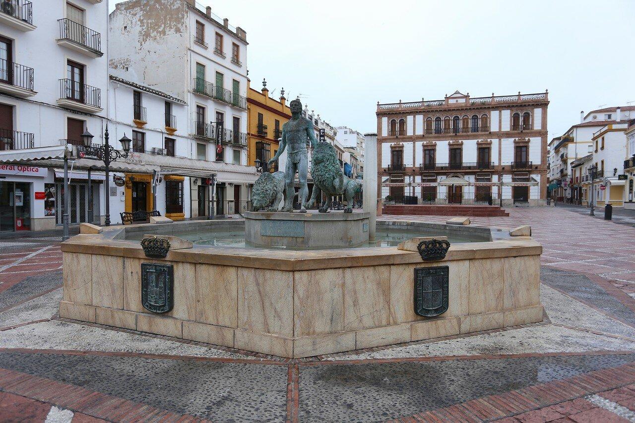 Ронда. Площадь Сокорро (Plaza del Socorro)