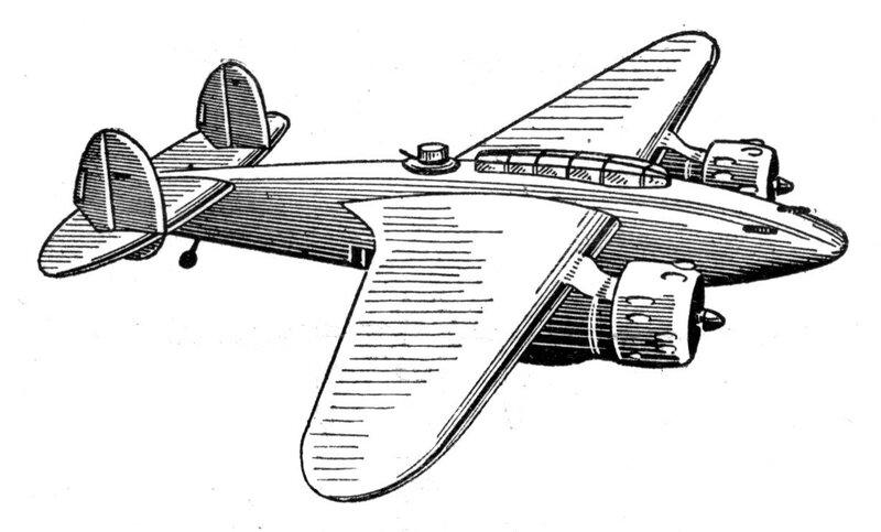Силуэты итальянских самолетов (1939) 024