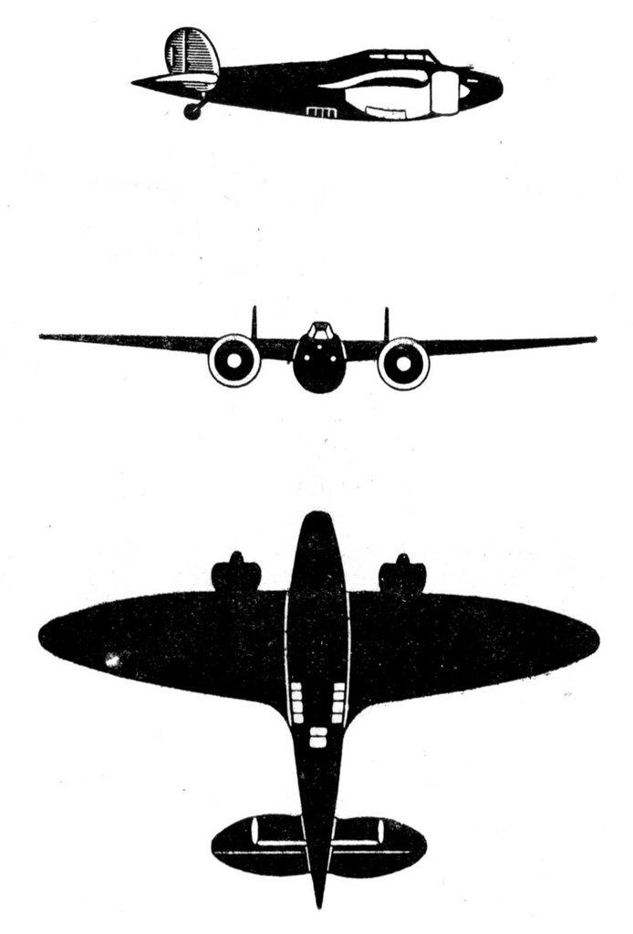 Силуэты итальянских самолетов (1939) 025