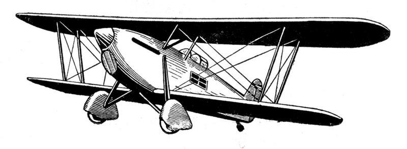 Силуэты итальянских самолетов (1939) 038