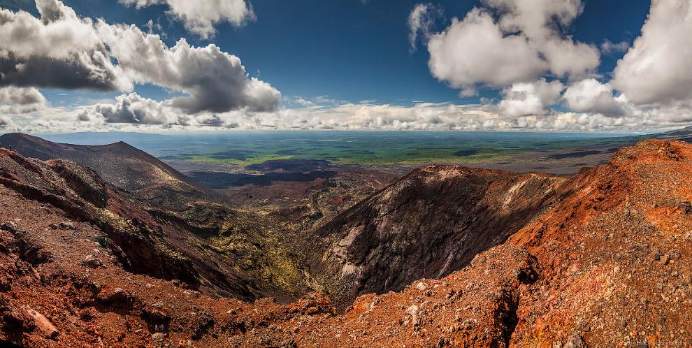 5. Представьте вот это место во время его активности. Не хотел бы я находится на пути лавы. Большое