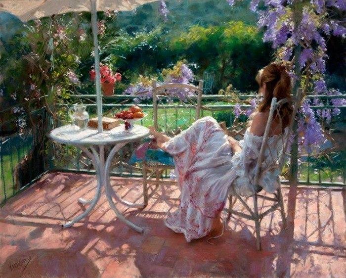 Нежная женская красота в работах Висента Ромеро Редондо