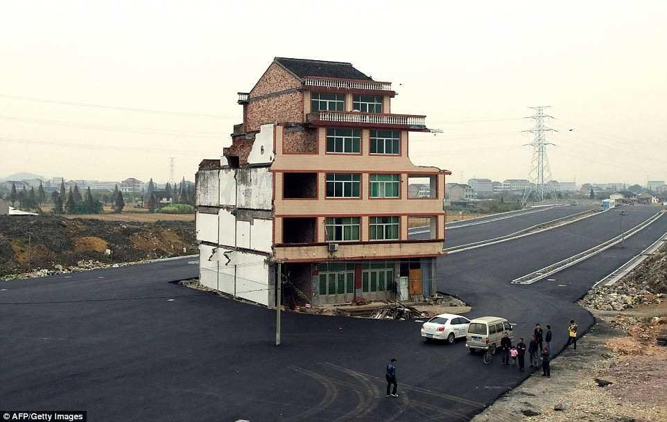 «Дома-гвозди» в Китае, что с ними стало