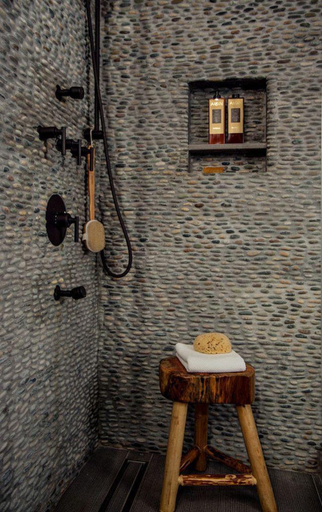 15. Галька на стенах