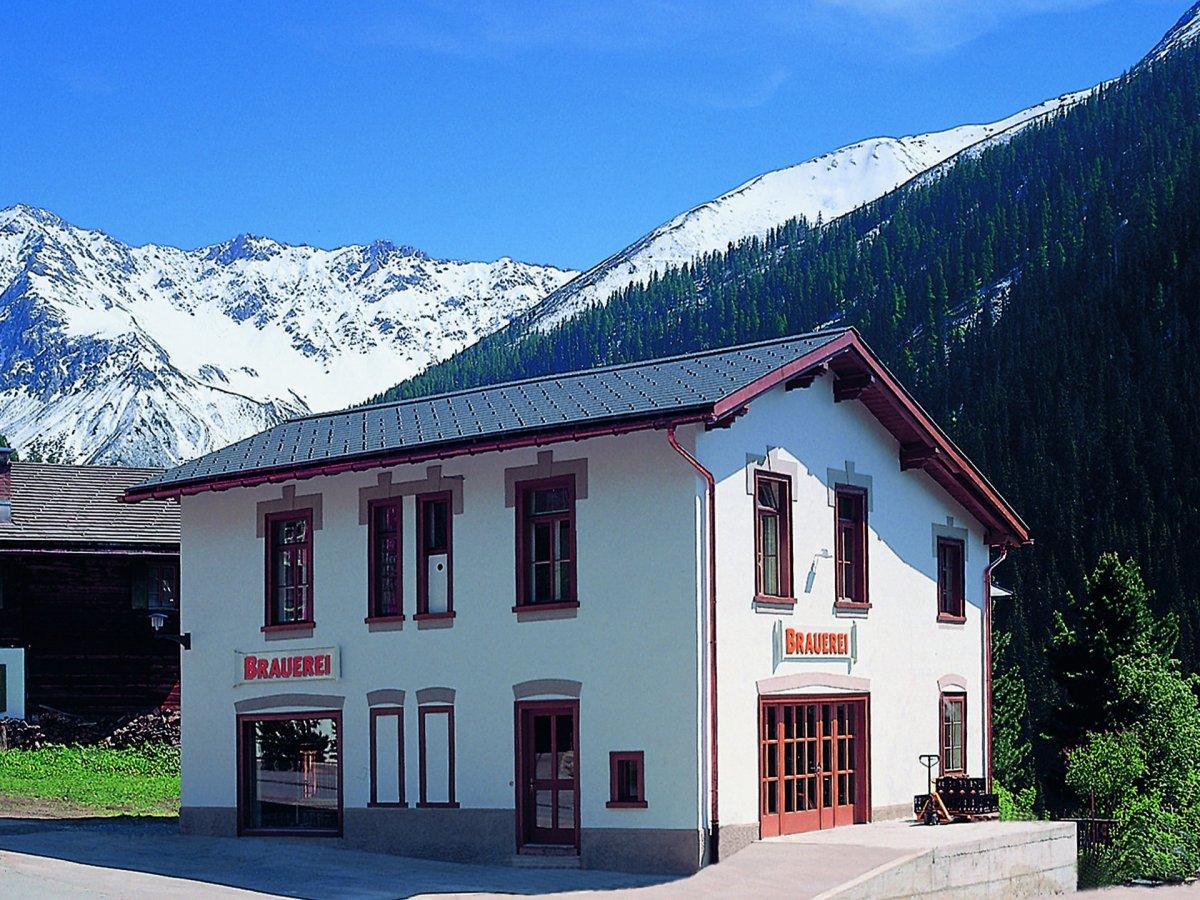 Давос в Швейцарии является самым высоким городом в Европе, а значит и завод BierVision Monstein Brew