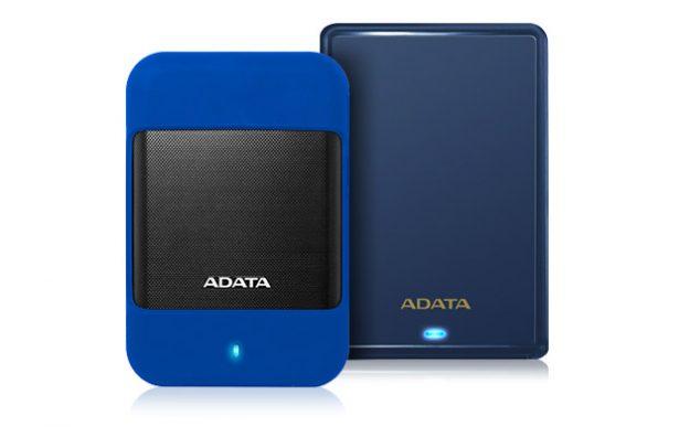 ADATA представила ударопрочные жесткие диски HD700 и HV620S