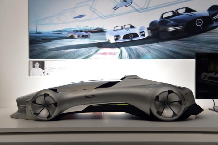 Mercedes-Benz Autonomous Racing южнокорейского дизайнера Хосан Сонг. Концепт-кар Mercedes-Benz Auton