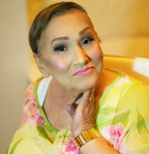 «Просто я люблю свою бабулю Ливию», — говорит Тэя.