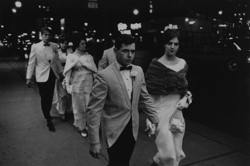 Фото: Энрико Натали. Выпускной, Детройт, 1968.