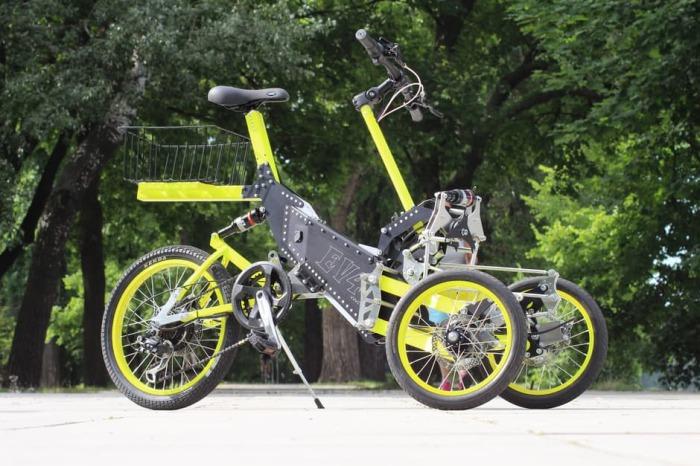 Новый велосипед. Велосипеды приобретают все большую популярность на рынке. В свете этих событий было