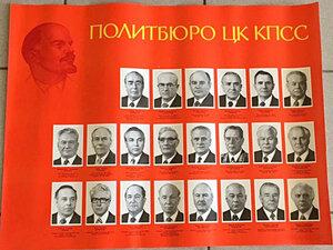 1981. Политбюро ЦК КПСС
