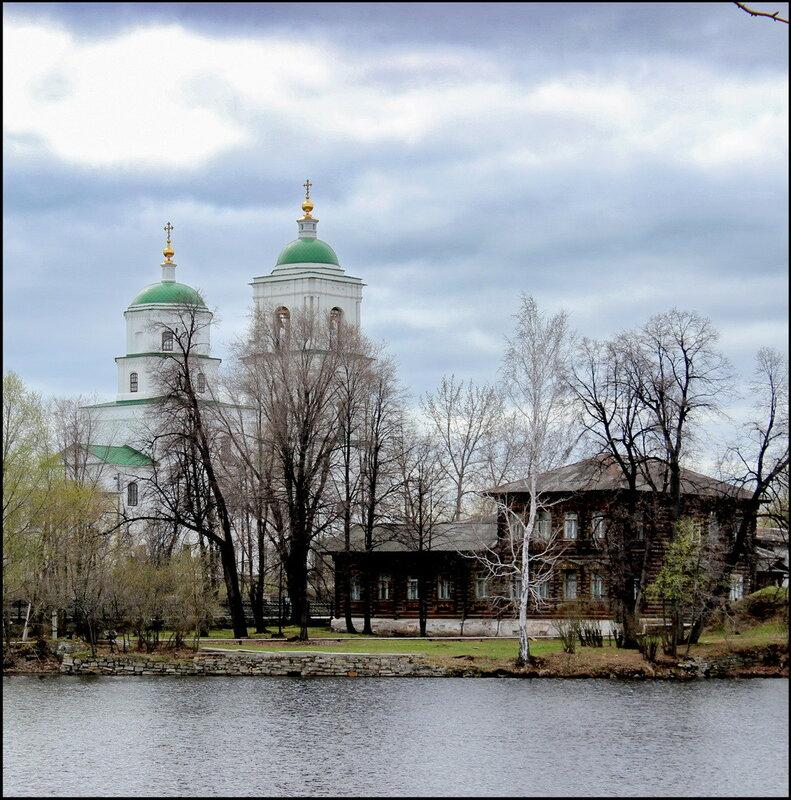 Кыштым 1554 Белый дом Церковь Сошествия Святого Духа