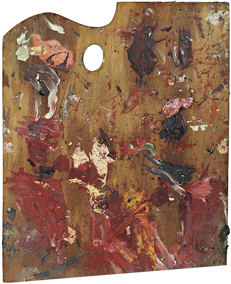 Palette of Cy Twombly, 2007, 190x156cm, Copyright: Matthias Schaller,Collezione Nicola del Roscio,