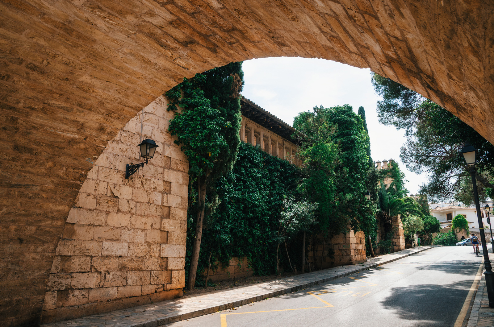 Стены квартала «Испанская деревня», Пальма де Майорка