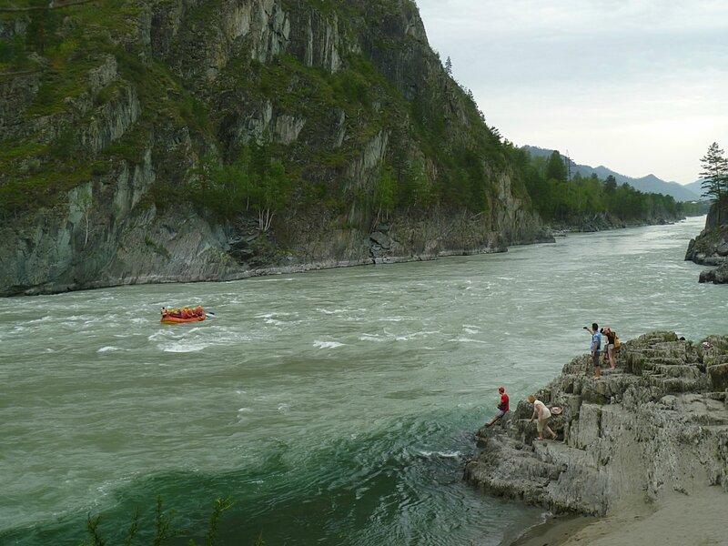 Алтай, река Катунь (Altai, Katun River)