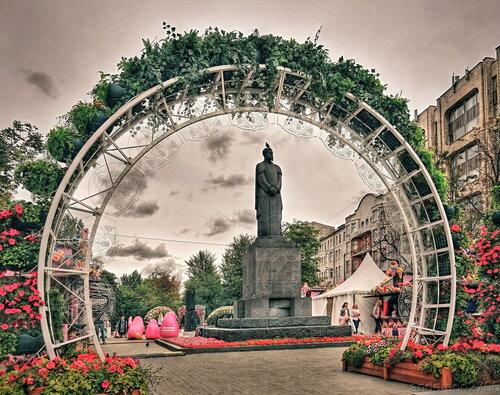 Памятник Тимирязеву К. А.