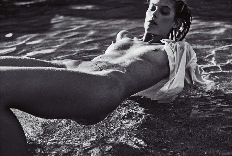 Барбара ди Креддо в журнале Lui july/august 2016 - nude Barbara di Creddo & Justice Joslin by Michel Sedan